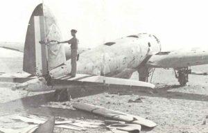 Heinkel He111 Bomber vom Sonderkommando Junck