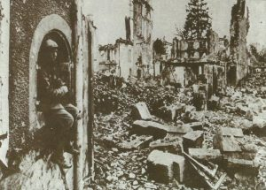zerstörtes Verdun