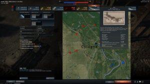 War Thunder Schlachtkarte