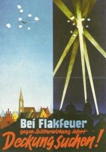Deutsches Luftschutzplakat