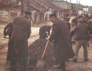 Polen Izbica 1941 Juden Zwangsarbeit