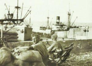verschiffung britischer Kriegsgefangener