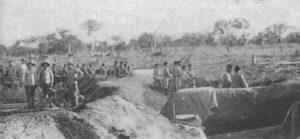 Infanteristen der portugiesischen Expeditionsstreitmacht