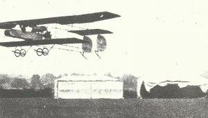 Short-Trainingsflugzeug mit Druckpropeller