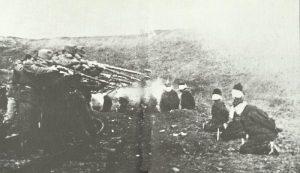 Exekution serbischer Guerilla