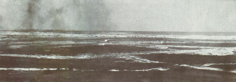 Britischer Infanterieangriff bei Mametz