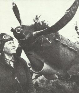 Russischer Pilot nach Rammangriff