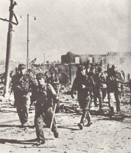 Vormarsch finnischer Truppen