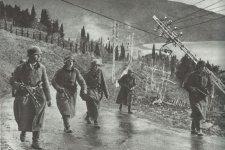 Deutsche Infanterie auf der Krim