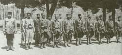 französische koloniale Zouave-Truppe