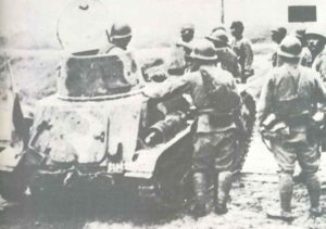 Japanische Tankette Typ 94