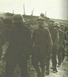 Deutsche Kriegsgefangene Verdun