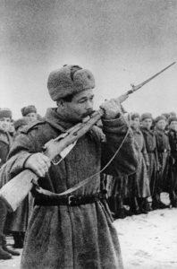 Vereidigung russischer Soldaten