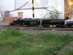 MALLET 2-8-8-2 Dampflokomotive