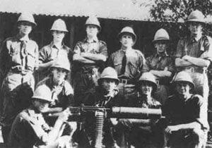 südafrikanische Maschinengewehr-Abteilung