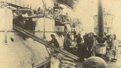 U-Boot übernimmt Munition