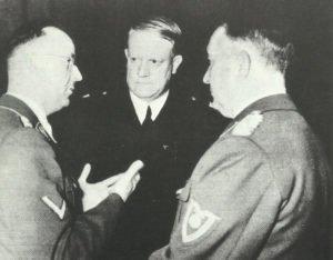 Quisling mit Himmler