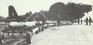 Stirling-Bomber der RAF
