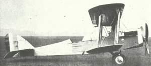 Airco D.H.4 Doppeldecker