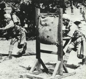 Ausbildung indischer Garnisonstruppen