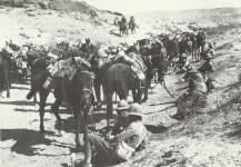 Britische Kavallerie in der Nähe von Jebel Hamrin