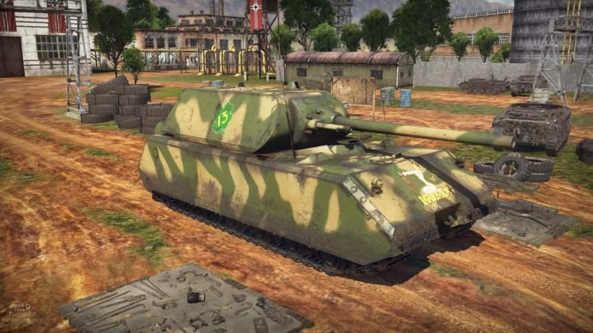 Kampfpanzer 'Maus'.