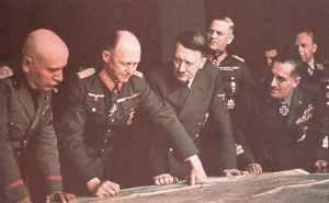 Hitler, Generäle und Mussolini