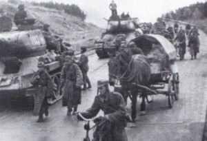 Polnische Soldaten im April 1945