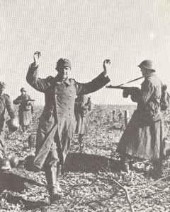 Gefangennahme deutscher Soldaten