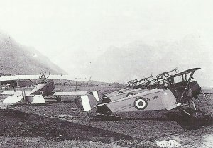Italienische Nieuport XI Bebe