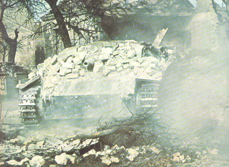 StuG III im Ortskampf