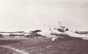 Typenvielfalt auf einem alliierten Flugfeld