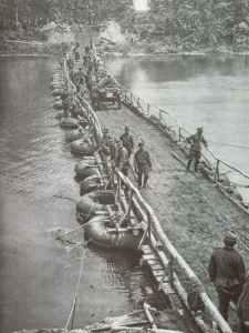 Floßsackbrücken