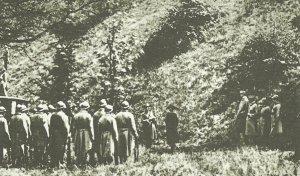 Exekution der Holländerin Mata Hari