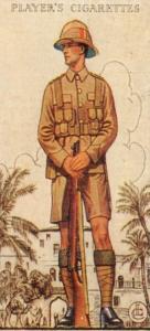 Territorial-Soldaten eines Middlesex-Regiments