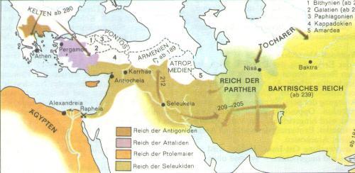 Nachfolgereiche Alexander des Großen