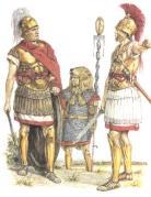 Tribun, Signifer und Legat bzw Konsul
