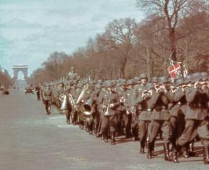 Einmarsch deutscher Truppen in Paris.