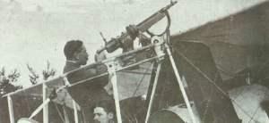 Colt-Browning Modell 1895 als Flugzeug-Bewaffnung