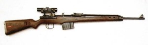 Gewehr 43 war mit Zielfernrohr