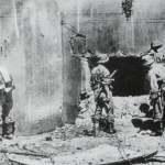 Einnahme eines Bunkers der Stalin-Linie