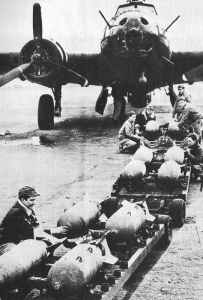 B-17 für den ersten US-Luftangriff auf Europa