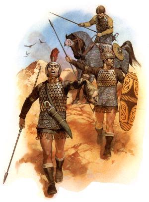 Iberische Krieger