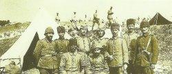 Türkische Offiziere an der Ostfront