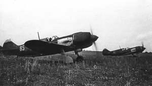 La-5 bei Kursk