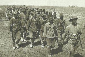 Schlacht von Ramadi gefangengenommene türkische Soldaten
