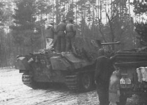 Panther-Panzer von 'Reich'