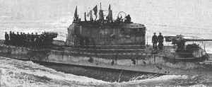 italienische Unterseeboot Barbarigo
