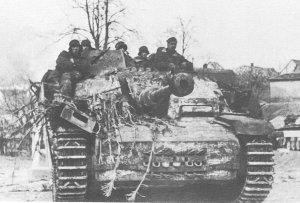 SS-Sturmgeschütz in Ungarn