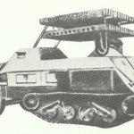 Maultier mit 8cm-R-Vielfachwerfer